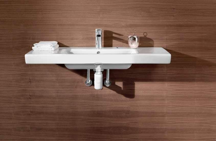 Bagni per disabili - Sifone lavandino di Villeroy e Boch