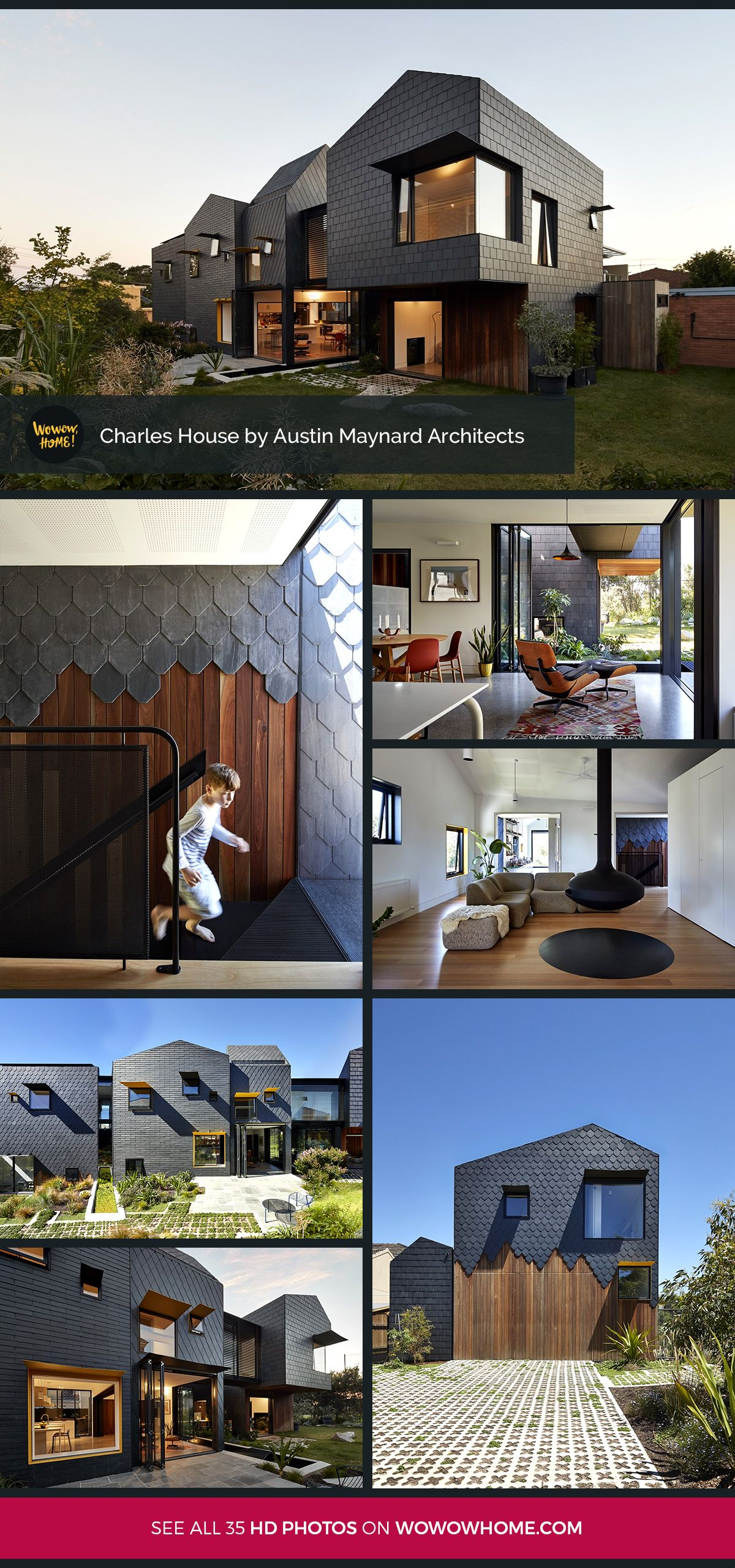 Charles House by Austin Maynard Architects Wowow Home