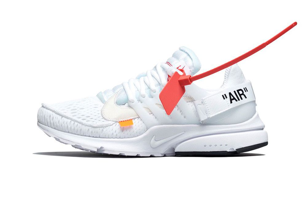 wholesale dealer c2625 15ed0 Your First Look at the New Virgil Abloh x Nike Air Presto Design