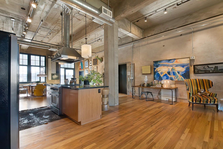 Loft industrial decoracion ideas decoraci n pisos - Decoracion loft pequeno ...