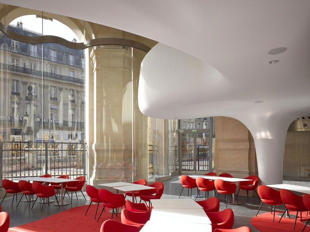 L'Opera Garnier s'offre un restaurant par l'architecte Odile Decq