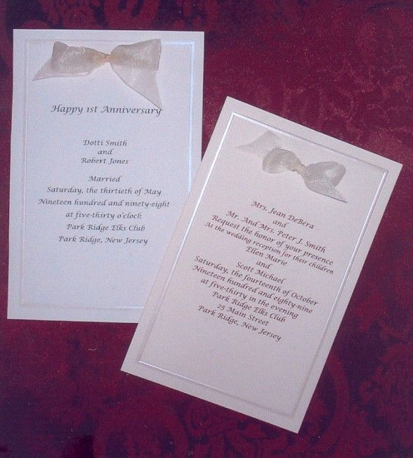 Party Invitations  Sample printable Card for Anniversary Party