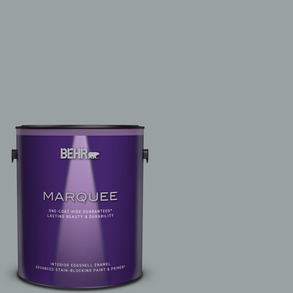 1 Gal 780f 6 Dark Granite Eggshell Enamel Interior Stain Blocking Paint And