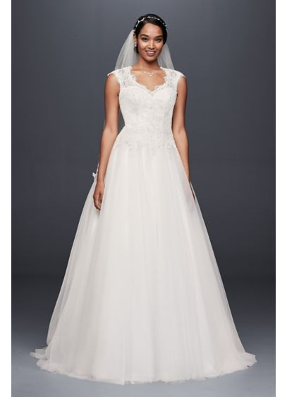 794862b2f Long Ballgown Romantic Wedding Dress - David's Bridal Collection ...
