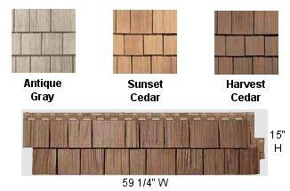 Best Rough Sawn Cedar Classic Siding Vinyl Repica Wood Siding 400 x 300