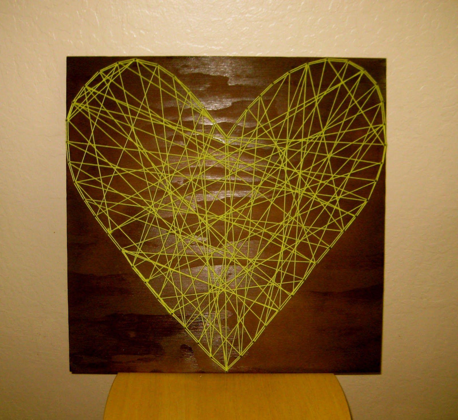 prettyLOVE, prettyLIFE: prettyLITTLE string-art | String art ...
