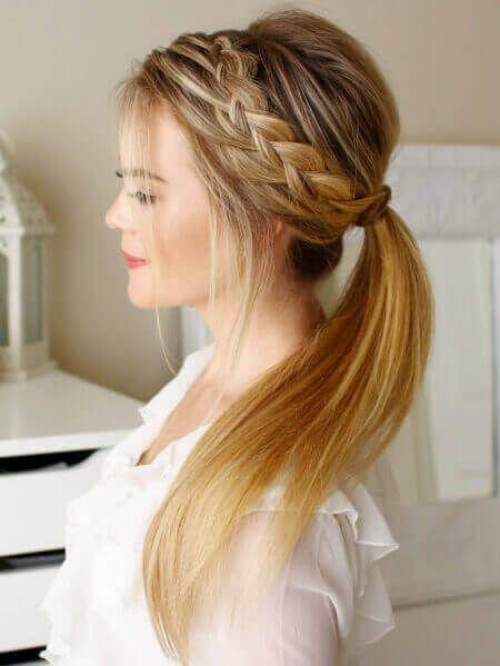 Resultado De Imagen De Recogidos Informales Peinados De Novia - Peinados-informales-con-trenzas