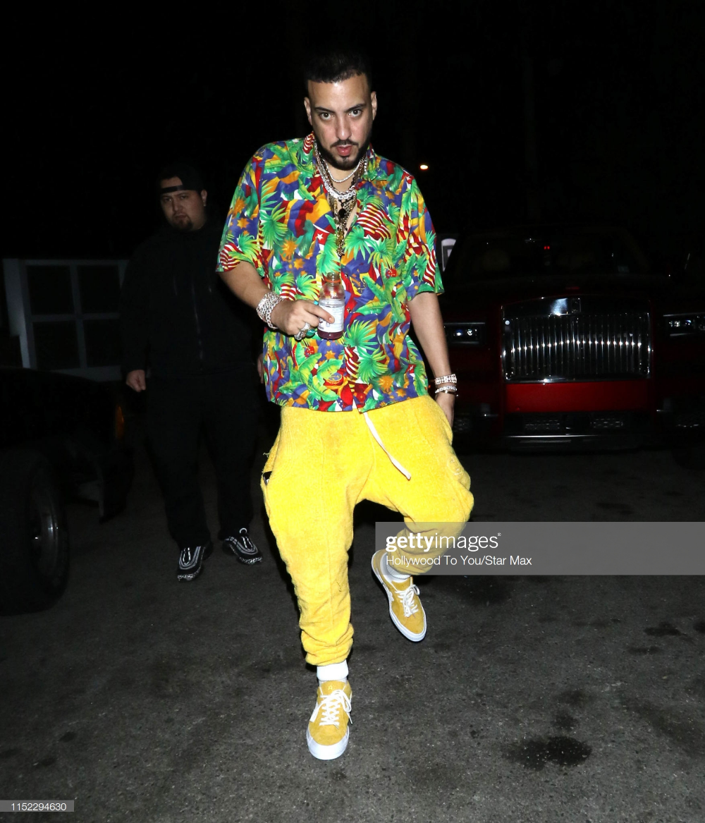French Montana is seen on June 26, 2019 in Los Angeles