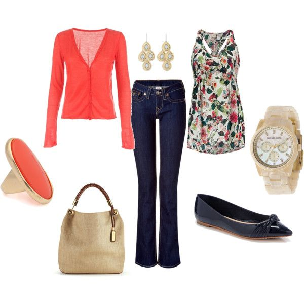 casual spring outfit, created by lisap68 on Polyvore