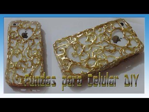 Funda para celular de silicon diy youtube manualidades - Como hacer fundas de silicon ...