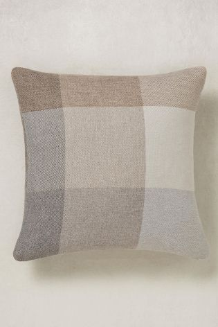 Buy Block Check Cushion From The Next Uk Online Shop Checked Cushions Scatter Cushions Cushions