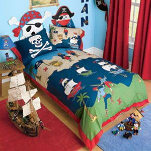 Kid quilts  Pirate Bedding