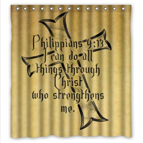 Special Design Christian Bible Verse Philippians 413 I Can Do All Things Through Christ