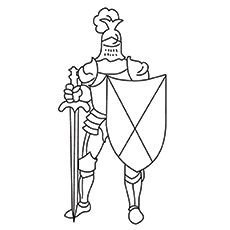 Top 10 Knight Coloring Pages For Kids Coloring Pages Medieval Medieval Art