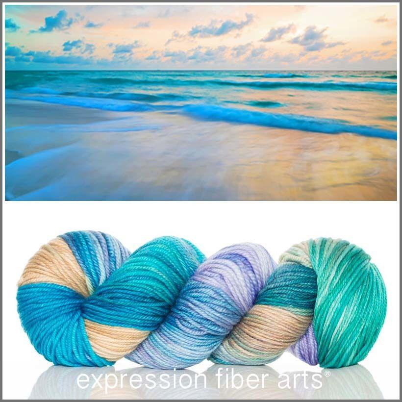 Tranquil superwash dewy dk Expression fiber arts, Yarn