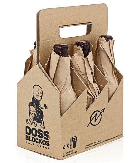 Doss Blockos Beer Packaging Design Beer Packaging Craft Beer Packaging
