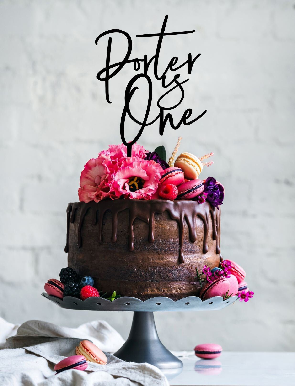 1st Birthday Cake Topper First Birthday cake topper