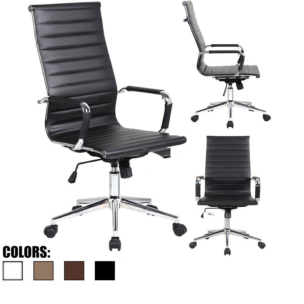 upholstered task chair with wheels