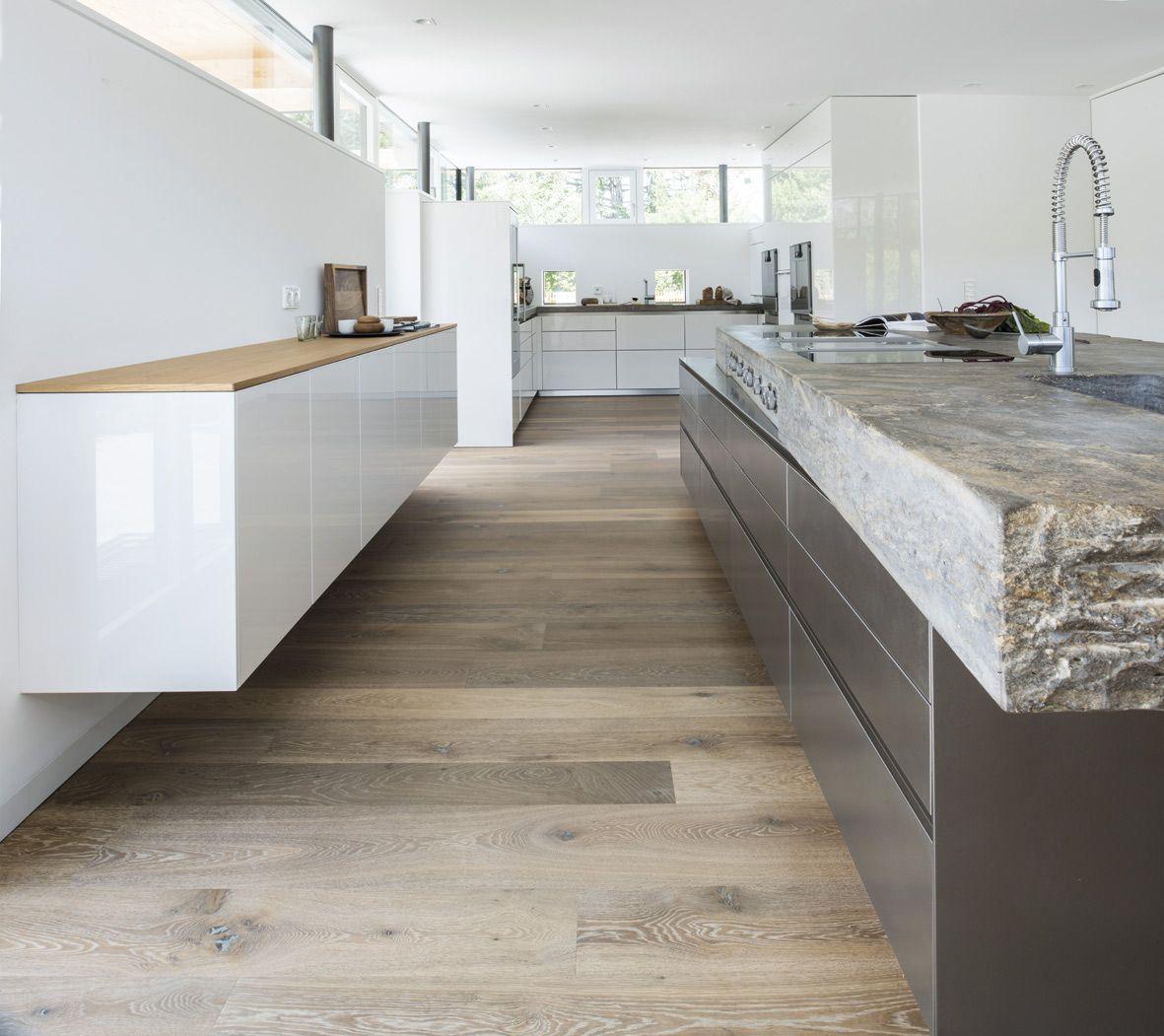 Küche Architektur minimalismus und sinnlichkeit sind die gestaltungsidee dieser