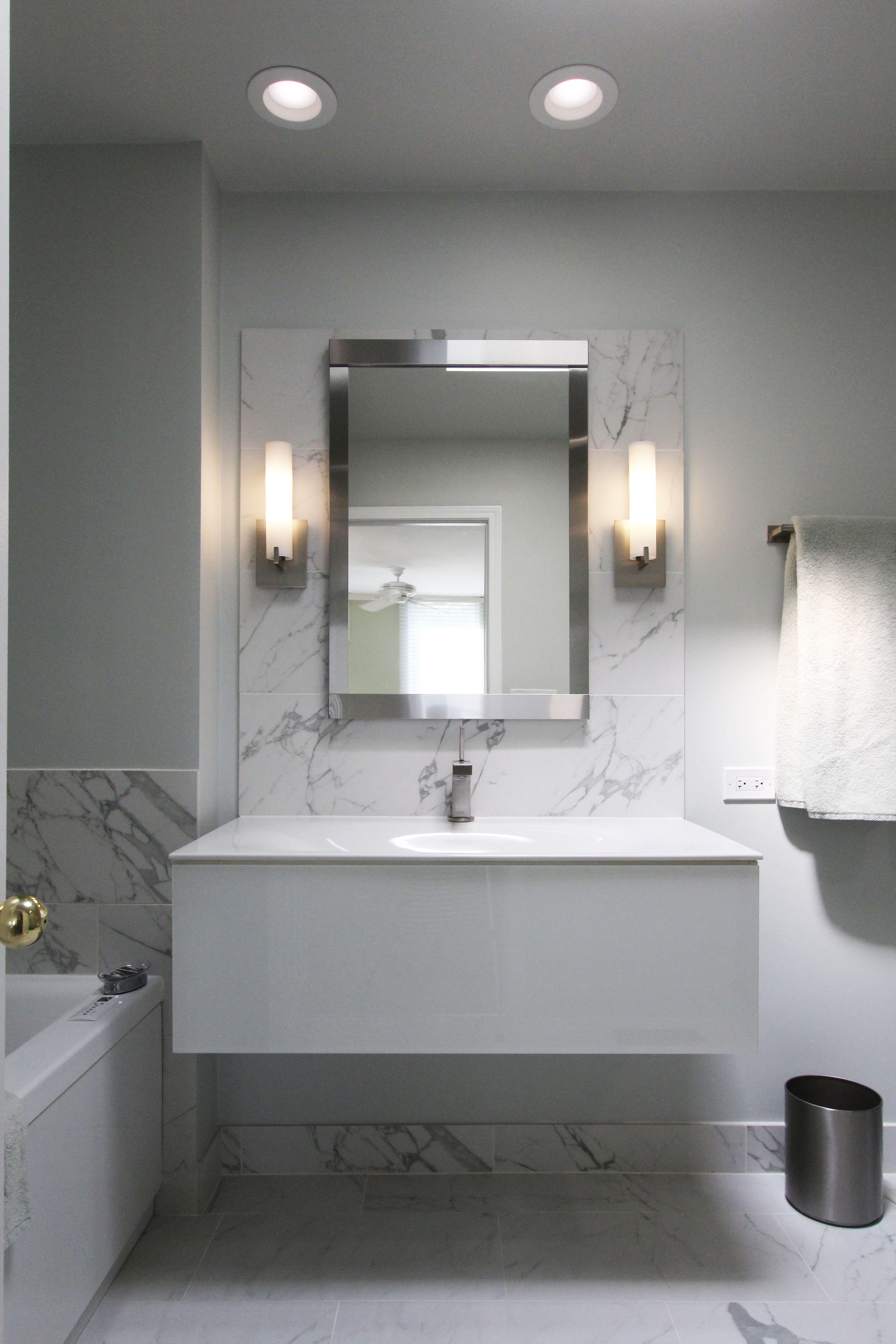 Modern Minimal Bathroom Design Sleek Look For A Bachelor Pad Habitar Design Bathroom Design Unique Bathroom Beautiful Bathroom Designs