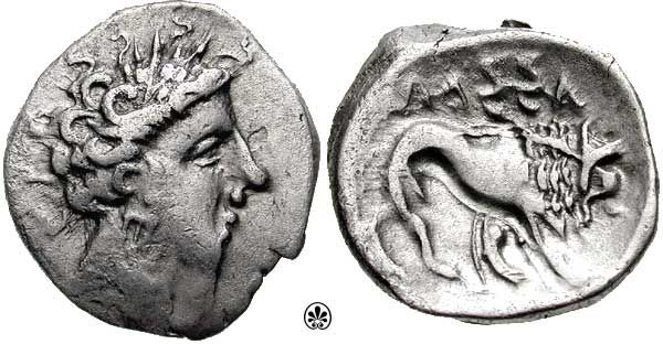 Italy, Insubres Celtic coin, 2nd Century BC