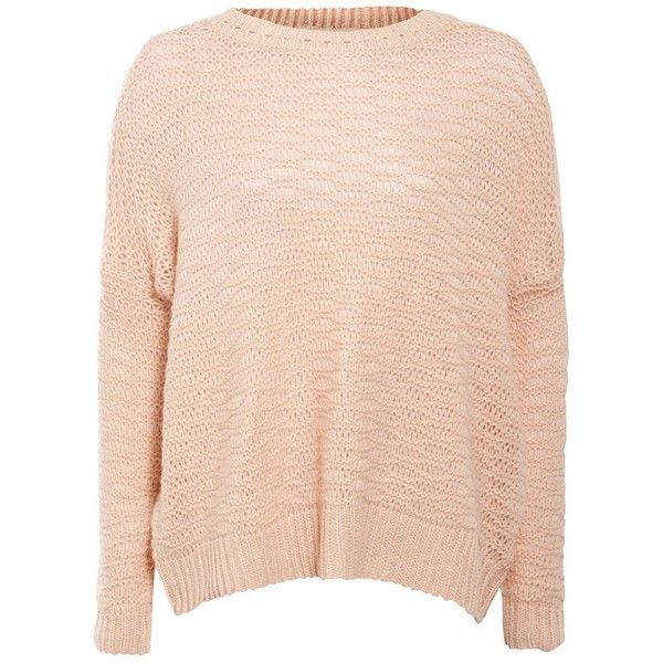 Candy Pink Slouch Knitted Jumper ($13) ❤ liked on Polyvore featuring tops, sweaters, jumpers, shirts, blusas, drop shoulder tops, jumper shirt, drop shoulder sweater, jumpers sweaters and drop shoulder shirt