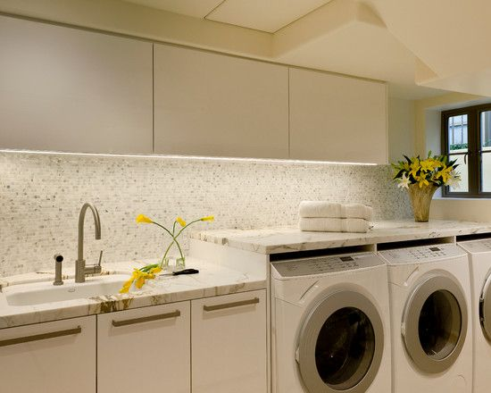 so pretty.. | Laundry room design, Modern laundry rooms ...