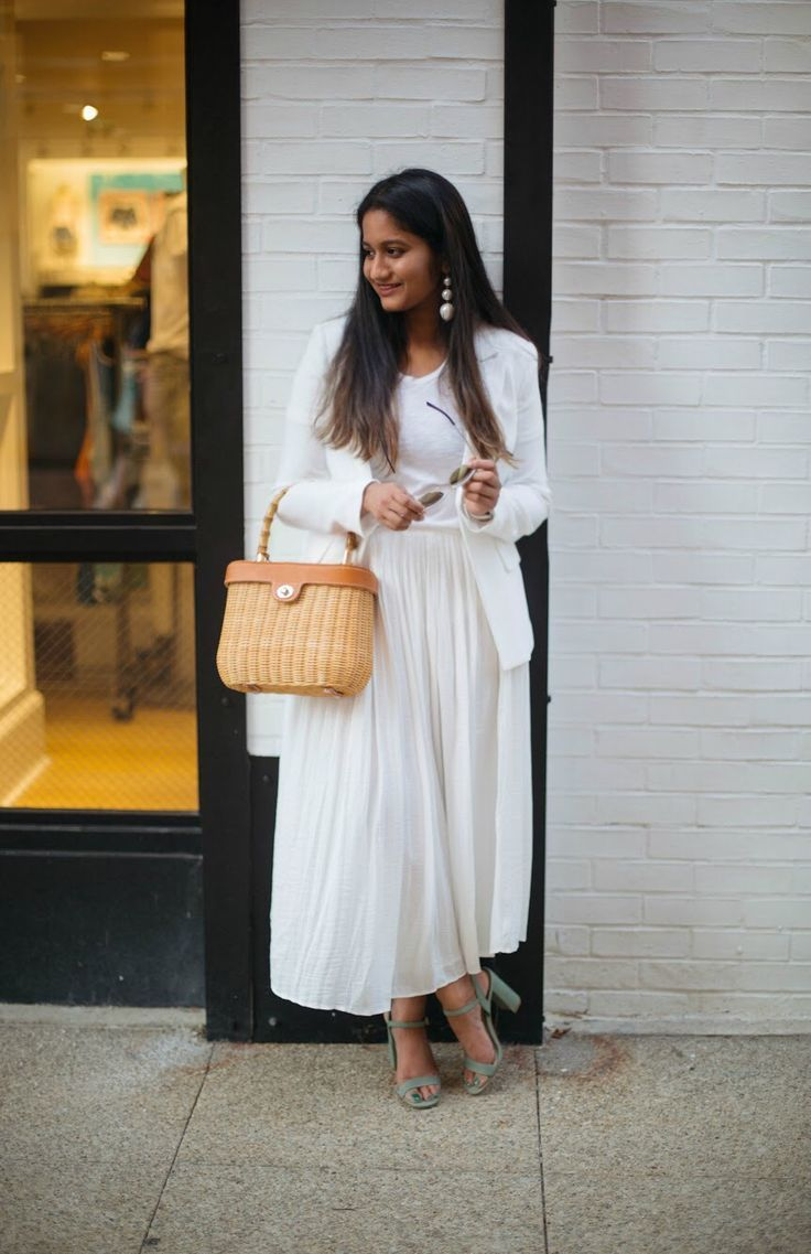 How to white style: skirts for summer