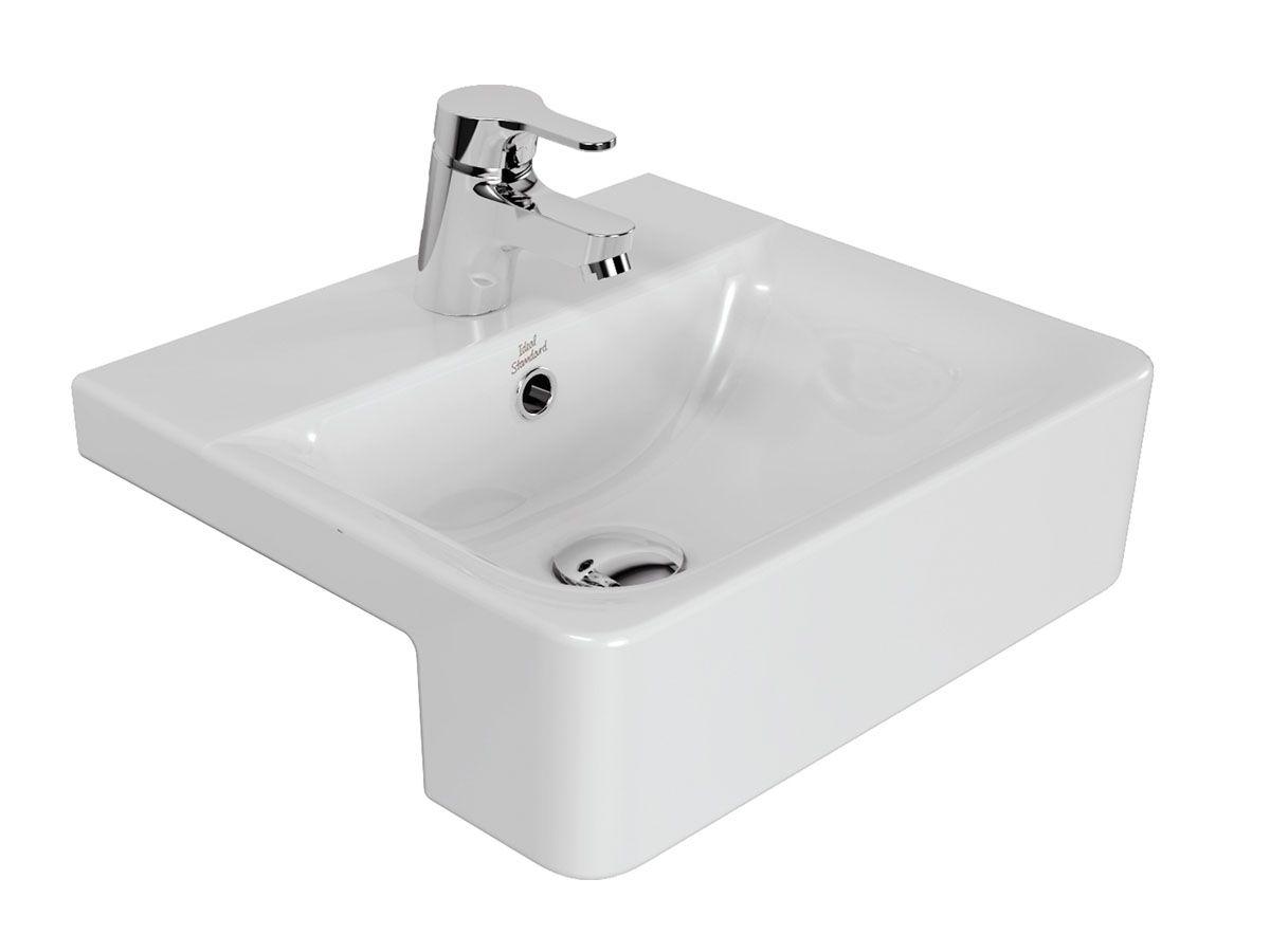 Ideal Standard Concept Semi Recessed Basin Semi