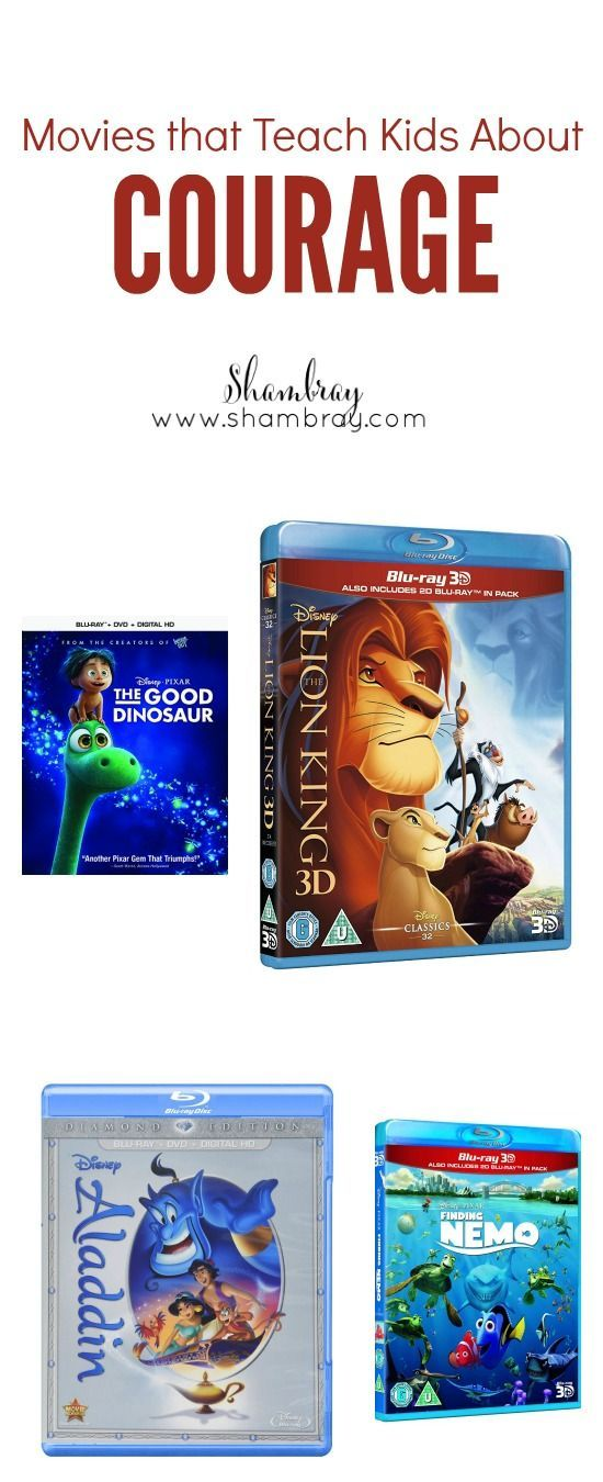 Movies That Teach Kids About Courage 8 Different Titles Teaching Kids Courage Kids