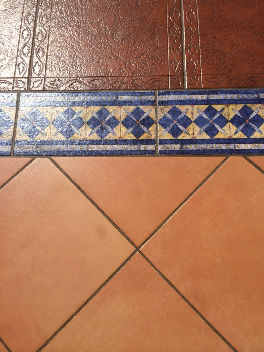 Terracotta Tiles Add Border Tile For Feature