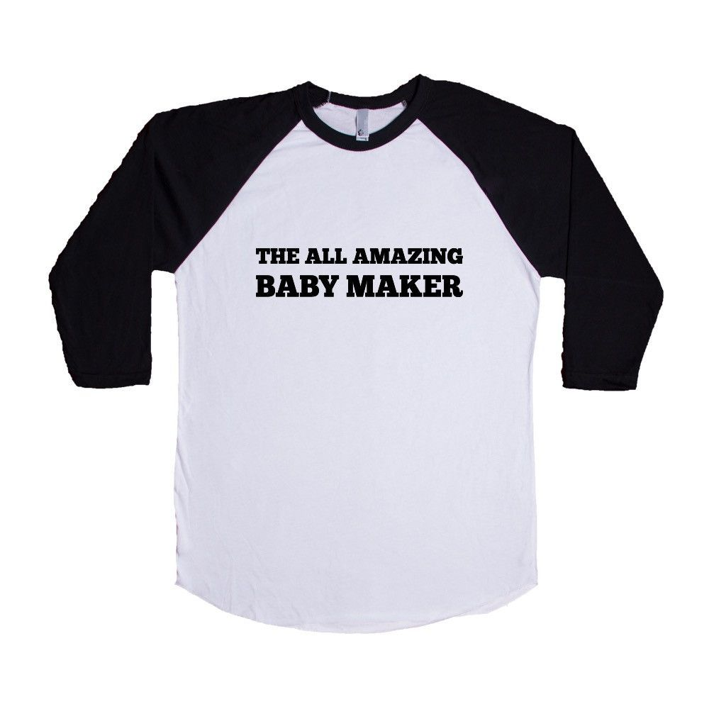 The All Amazing Baby Maker Pregnant Mom Dad Mother Father Babies Children Parents Parenting Love Family SGAL8 Baseball Longsleeve Tee