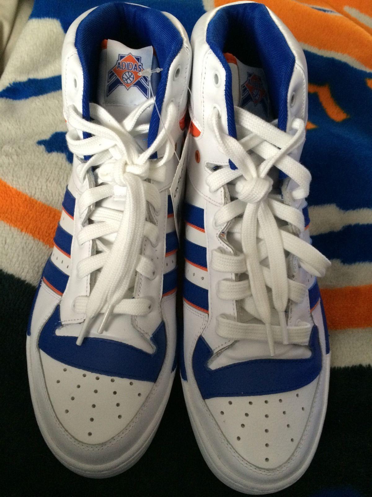 Adidas Attitude Hi New York Knicks Patrick Ewing Basektaball Shoe