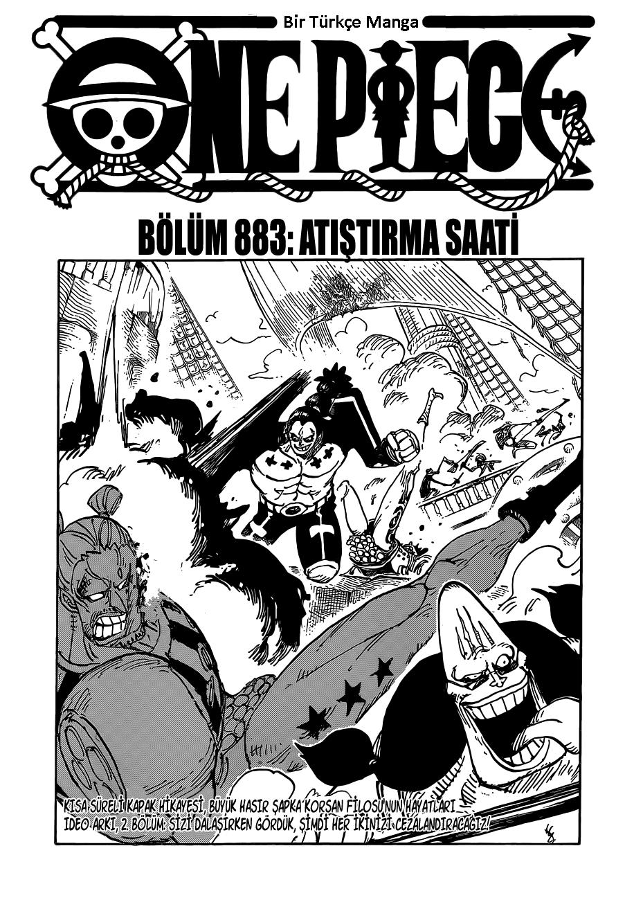 One Piece Manga 883 Turkce Manga Webtoon Okuma