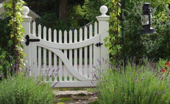 Rustic Wooden Garden Gates   Beautiful Garden Gate