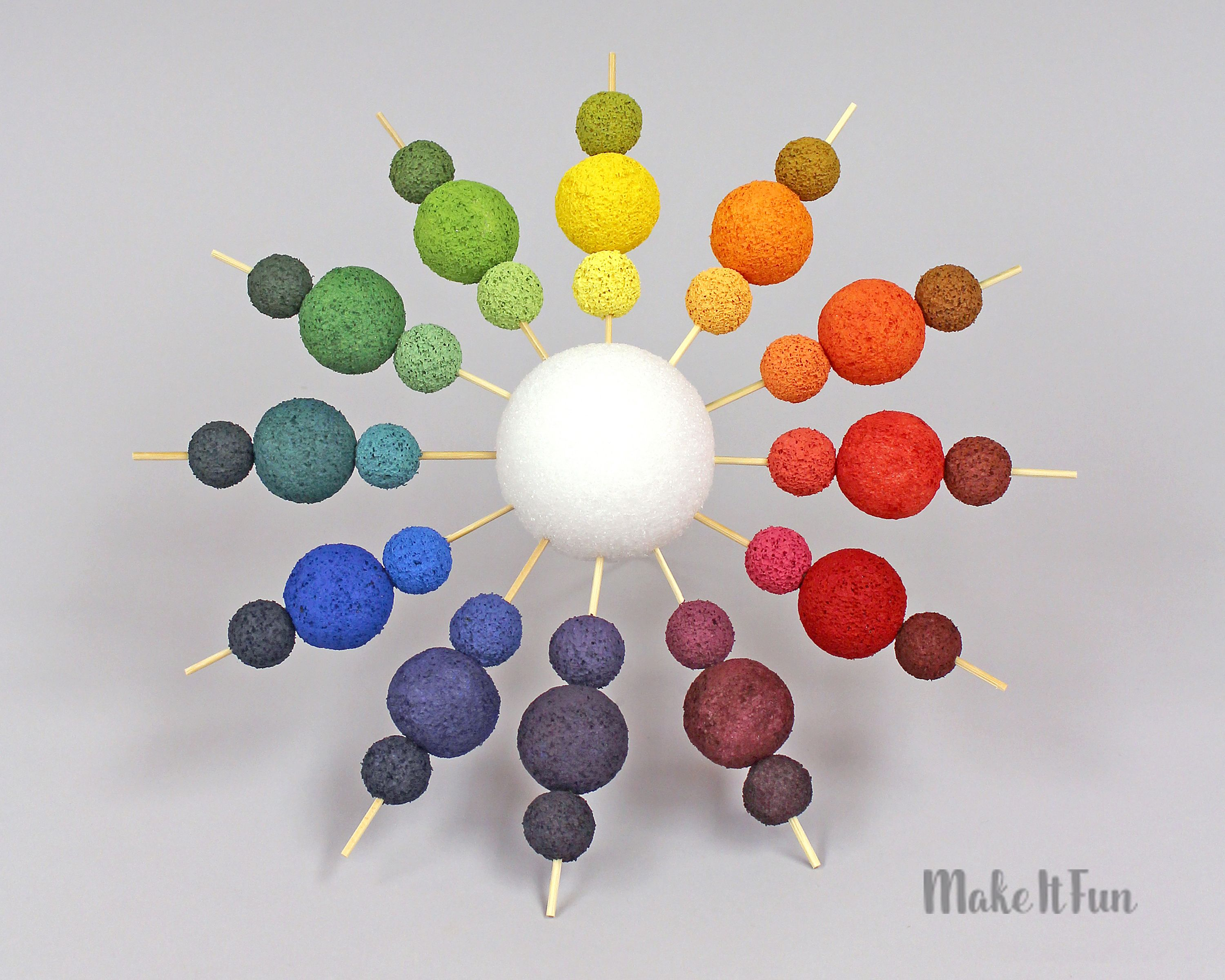 Teach Color Mixing With This Fun 3d Color Wheel Students