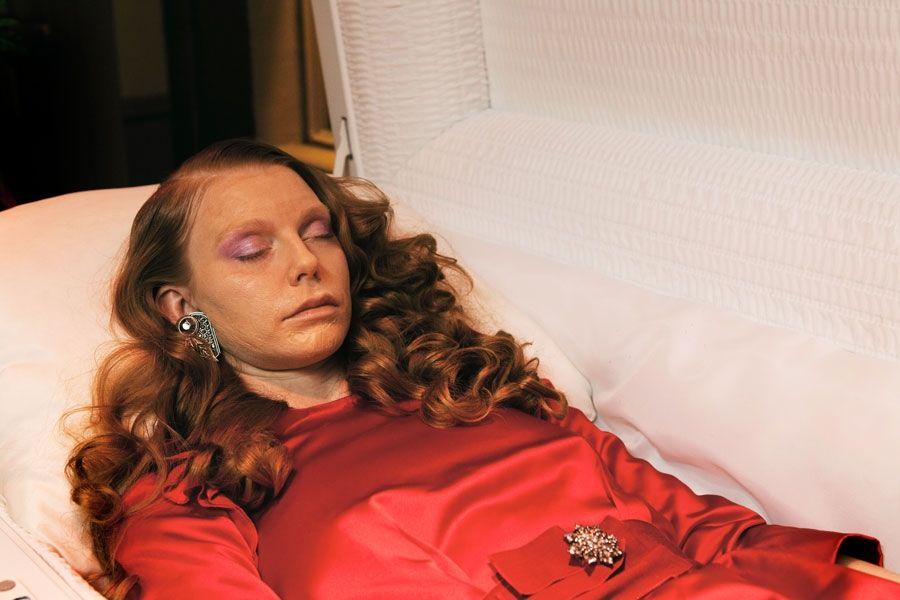 mortician makeup