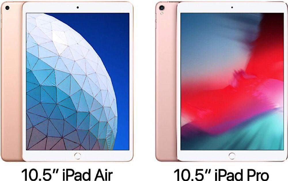 Ipad Air 2019 Da 10 5 Pollici Vs Ipad Pro 2017 Da 10 5 Pollici Qual E Il Migliore Ipad Air Ipad Ipad Pro