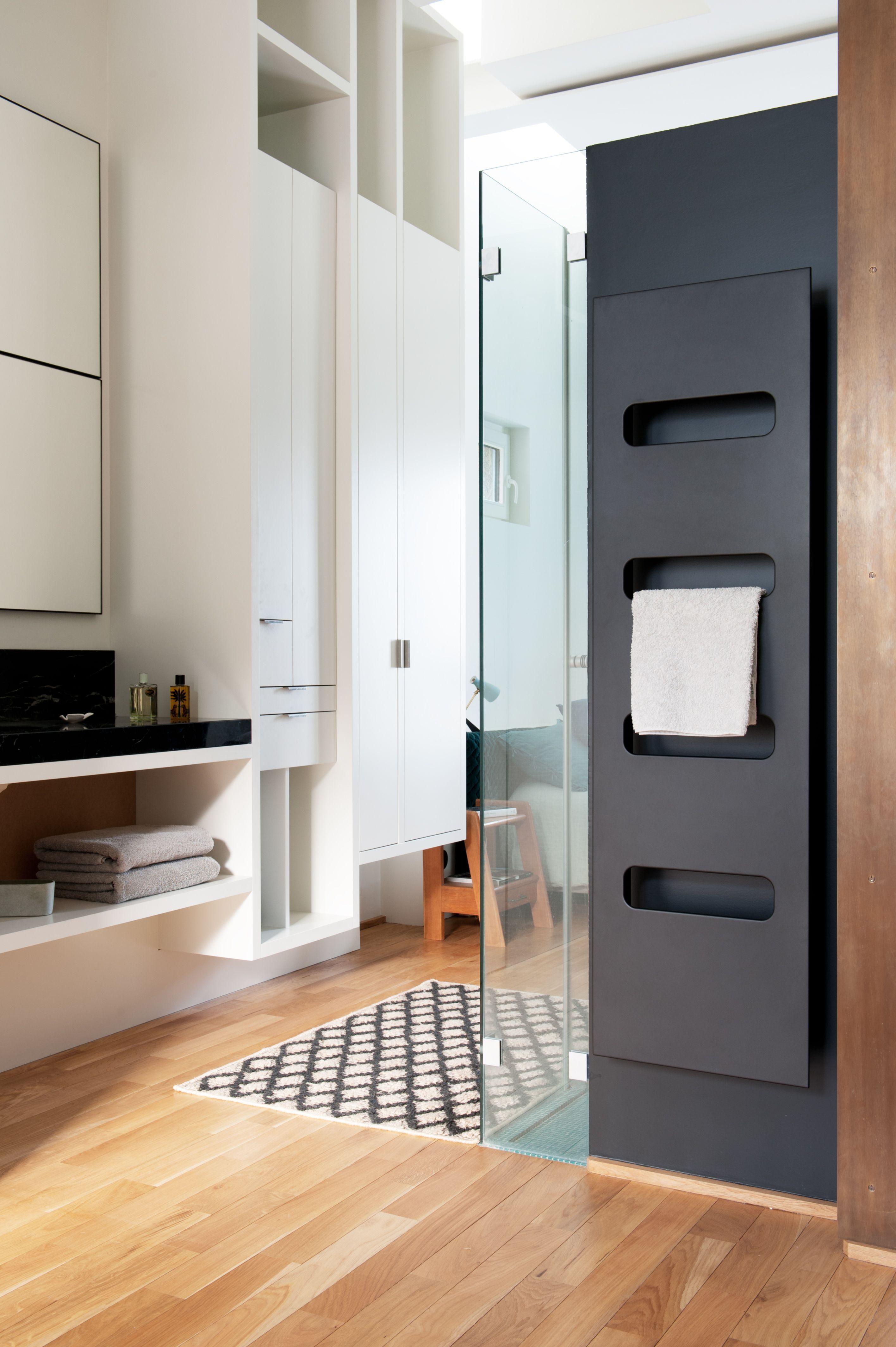 Radiateur Salle De Bain ~ radiateur s che serviettes campastyle elite design en acier noir