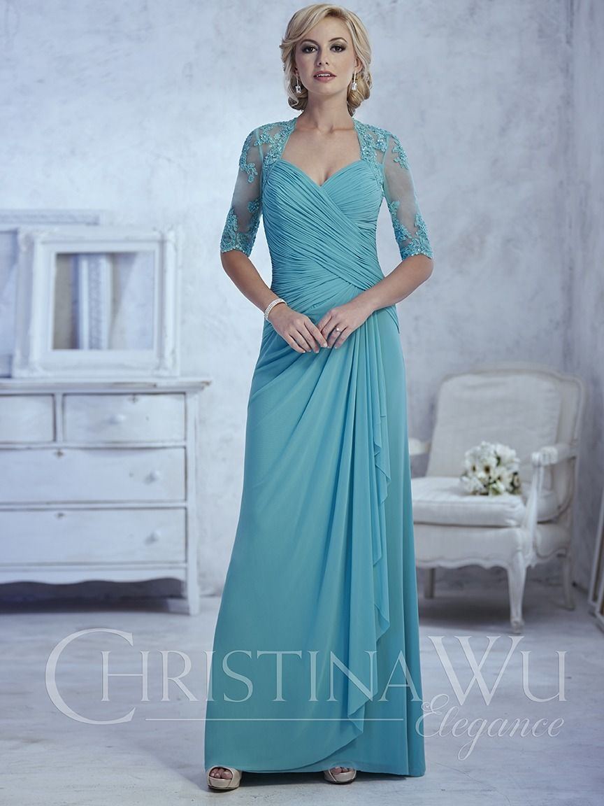 A-line stretch net gown with sweetheart neckline. Illusion back and ...