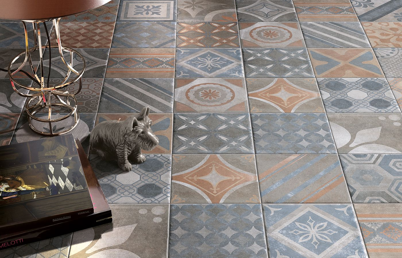 Classic cir manifatture ceramiche new orleans french quarter royal 20x20