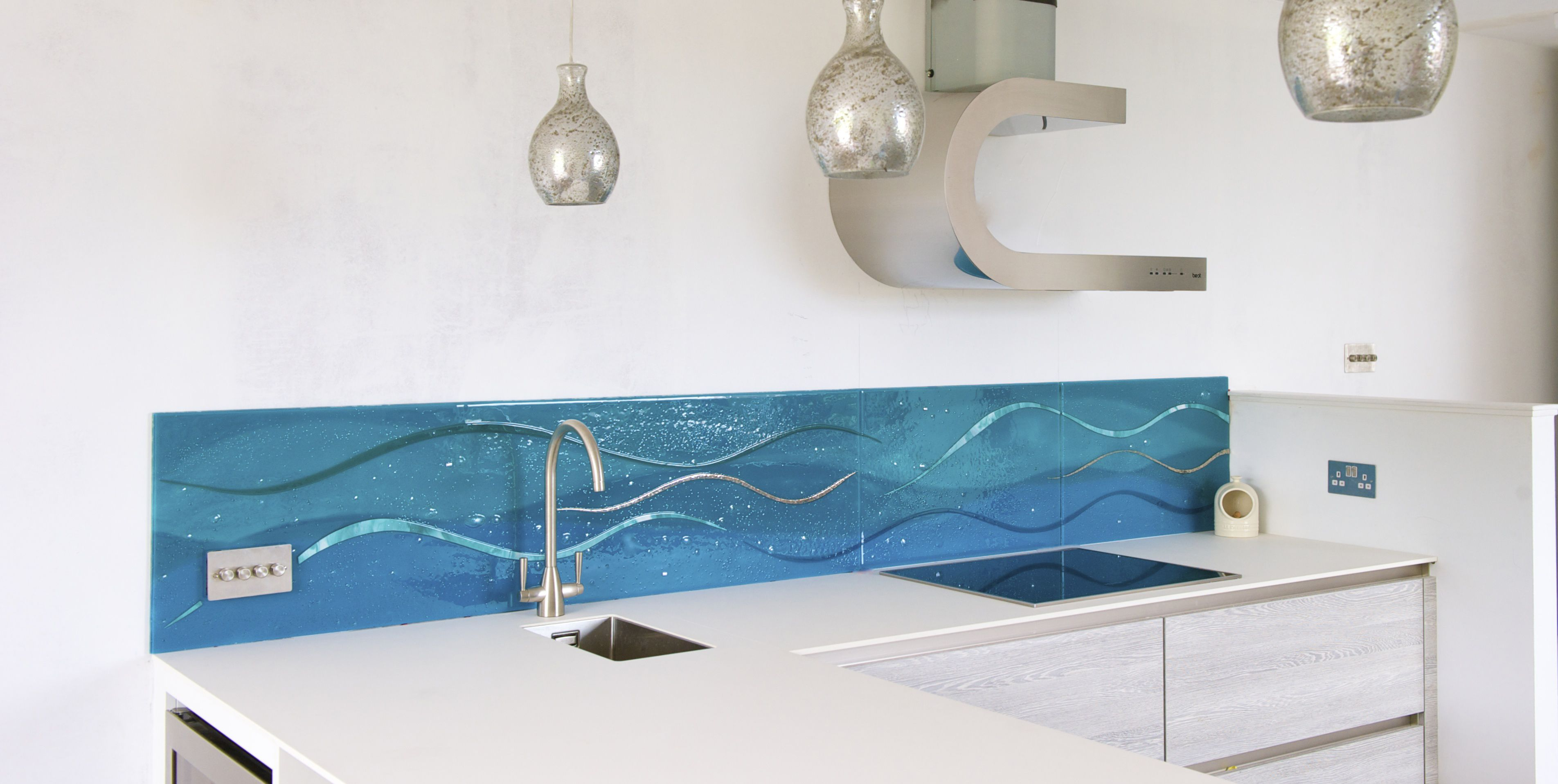 BESPOKE KITCHEN SPLASHBACK IN NORTH BERWICK, EDINBURGH - House Of ...
