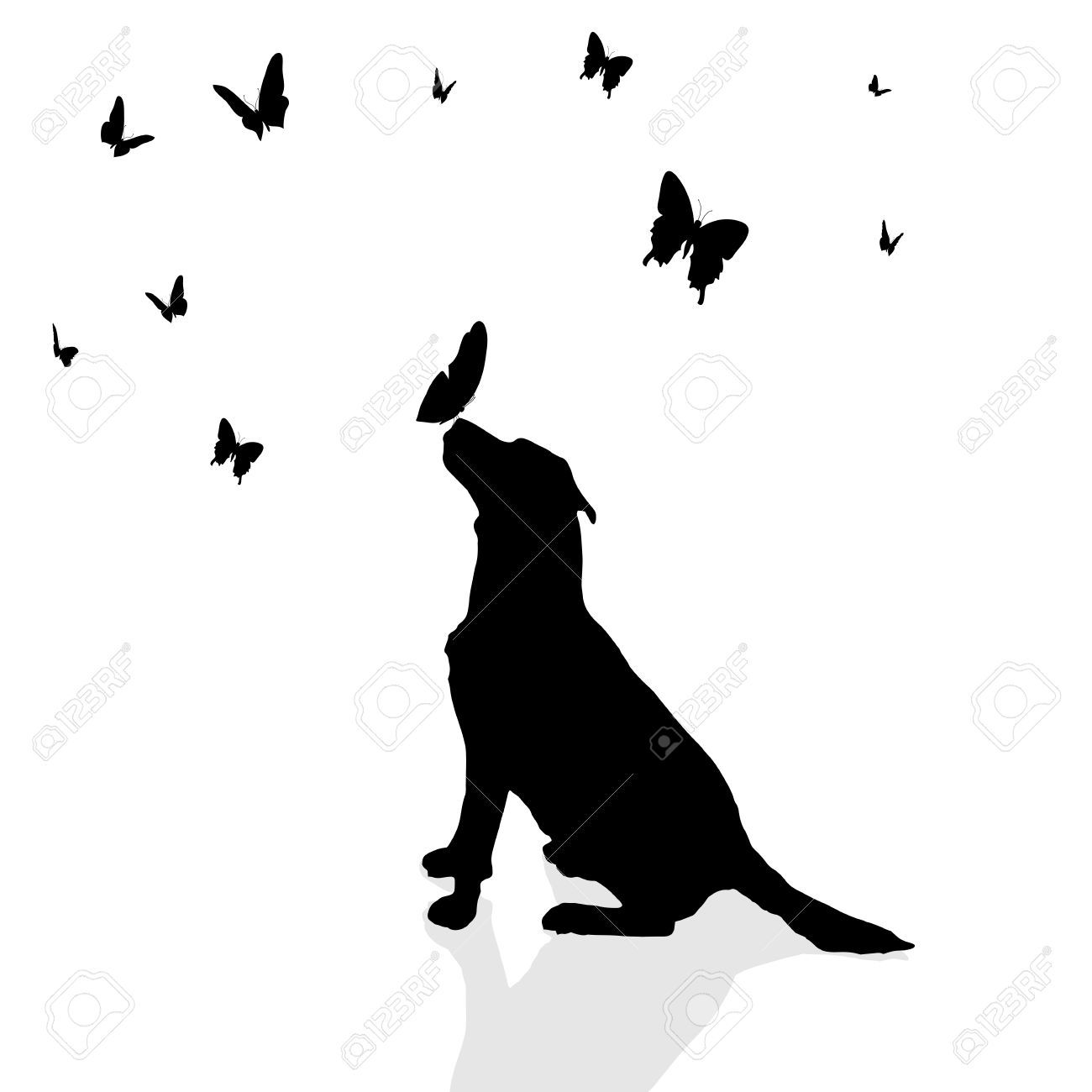 Pin By Sai Kumar On My Saves Dog Tattoos Tattoos For Dog Lovers Dog Silhouette