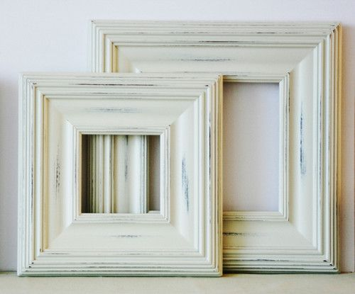 11x14 distressed wood picture frame whistler style in white pink or blue ebay - Distressed Wood Frames