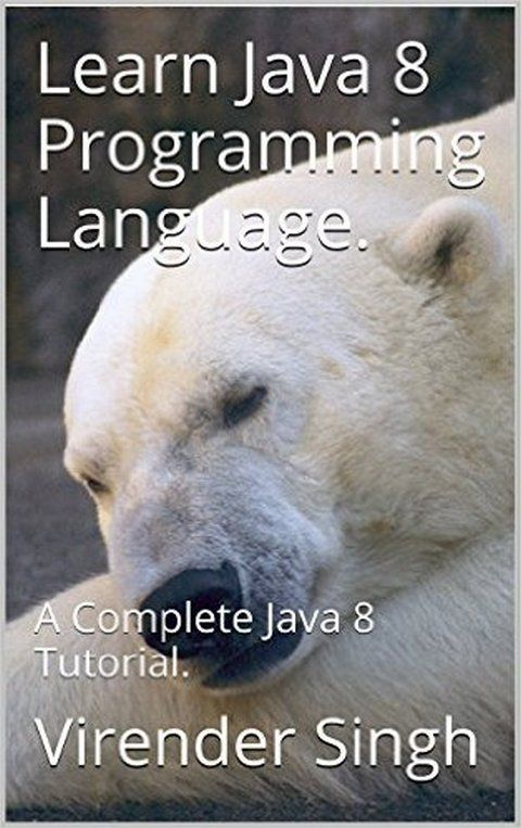 Learn Java 8 Programming Language: A Complete Java 8 Tutorial - PDF