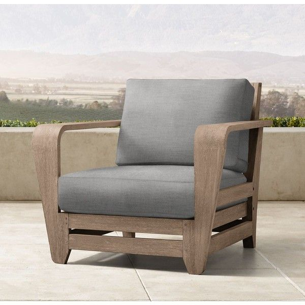 Cannes Lounge Chair featuring polyvore home outdoors patio