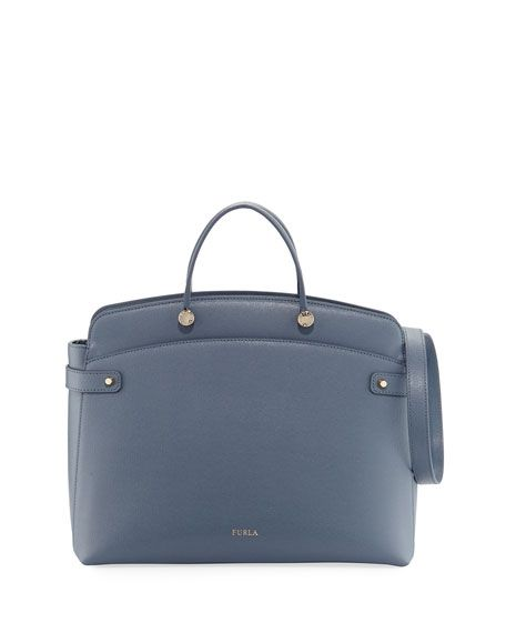 06538ea9065a FURLA Agata Large Saffiano Tote Bag
