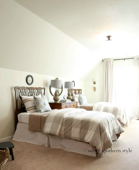 Spring Style Bedroom and How to Make a Bed Taller | Fabulously ...