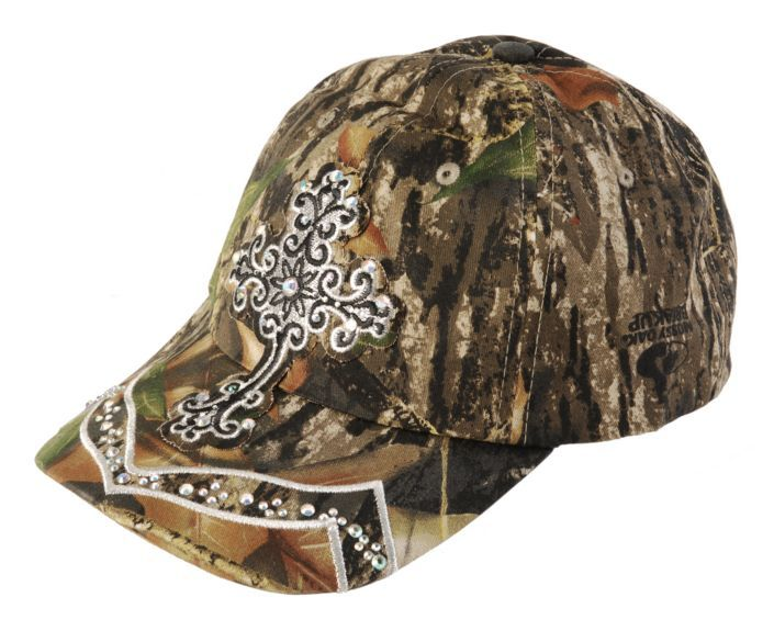 defaecdd6fc Blazin Roxx Mossy Oak Bling Cross Cap available at  Sheplers