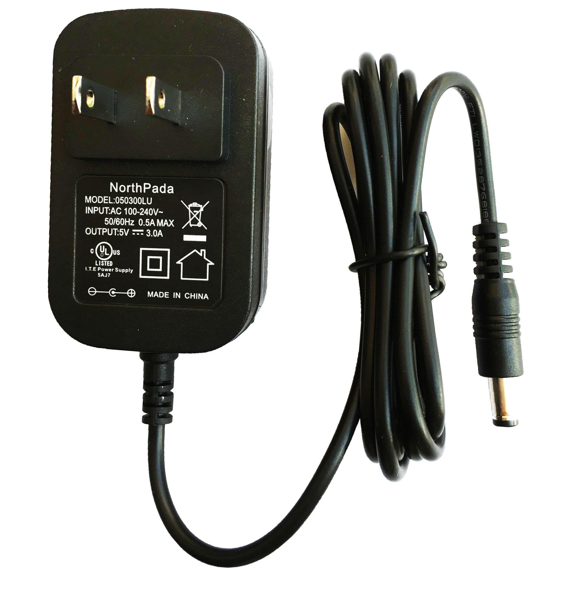 NorthPada 5V 3A Power Supply Charger Adapter for Pioneer DDJ-SX DDJ ...